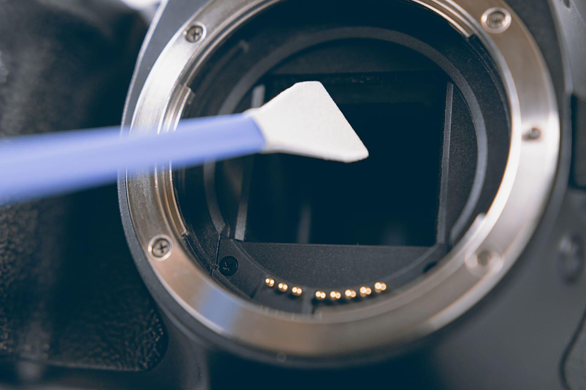Czyszczenie matrycy aparatu fotograficznego